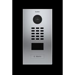 DoorBird Flush Mount IP Video Door Station, 1 Call Button