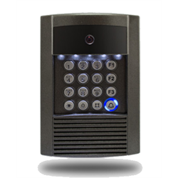 Logenex Teledoorbell Gate Station With Keypad, Video Camera, For Gate Controller