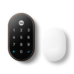 Yale NEST x WiFi Smart Lock with NEST Connect - Oil Rubbed Bronze
