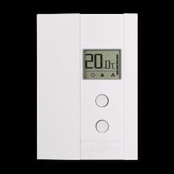Uniwatt Single Pole Non Programmable Electronic Thermostat 2000W 240V White