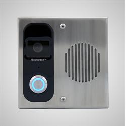 Logenex Teleport Surface Mount IP Video Door Station, Stainless Steel