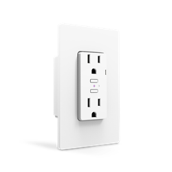 iDevices In Wall Receptacle with HomeKit, WiFi, Bluetooth