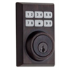 Weiser ZWave Motorized Contemporary Deadbolt - Venetian Bronze