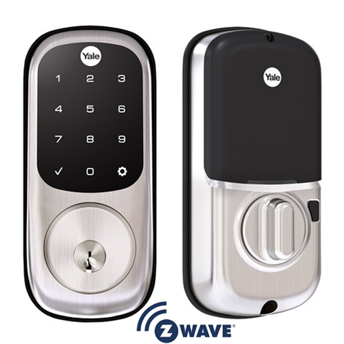 Yale Real Living Assure Lock Touchscreen Deadbolt Satin