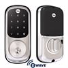 Yale Assure Lock Zwave Touch Screen Deadbolt Satin Nickel
