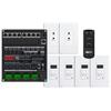 Leviton HAI HiFi2 Multi Room Audio System, 4 Source, 4 Zone Kit for Enclosures