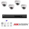 Hikvision IP Security Camera Kit with 4 Channel NVR and 4 x 1080p Dome Cameras