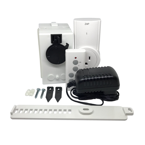 Vertical Blind And Drapery Motor With Wireless Remote