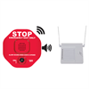 STI Wireless Exit Stopper Door Alarm with 8 Channel Receiver