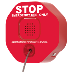 STI Fire Extinguisher Theft Stopper