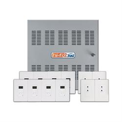 Leviton HAI HiFi2 Multi Room Audio System,  8 Source, 8 Zone Kit in Enclosure