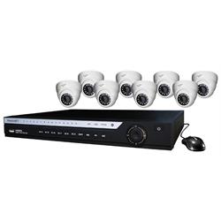 WatchNet XVI HDCVI HD Coax Camera Kit 16CH DVR with 8 x 1.3MP IR Eyeball Cameras