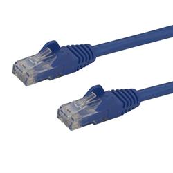 Startech CAT6 Molded Gigabit Patch Cable, 6 Foot 1.8 m , 650 MHZ, Blue