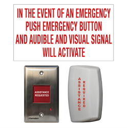 Camden Universal Emergeny Call Kit For use With CX-WC15 Restroom Kit