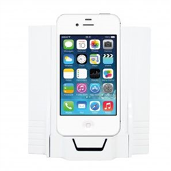 Channel Vision iPhone/iPod Wall Dock, Lightning, Bluetooth, RCA Output