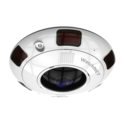WatchNet 360 Network Camera, 6MP, IR, IP66, microSD