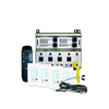 Channel Vision A-BUS Kit 4 Source 4 Zones 4 White Keypads