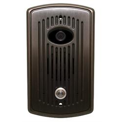 Logenex Teledoorbell Elite Flush Mount Door Station With Video - Oil Rub Bronze
