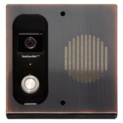 Logenex Teledoorbell S Series Surface Mount Door Station Video  - Oil Rub Bronze