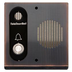 Logenex Teledoorbell S Series Surface Mount Door Station - Oil Rub Bronze