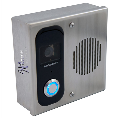 Ad102 Svc Teledoorbell Stainless Door Station With Camera