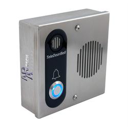 Teledoorbell Stainless Door Station Audio Only