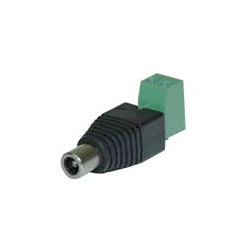 Power Adapter Barrel Female with Screw Terminals