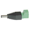 Power Adapter Male Plug with Screw Terminals