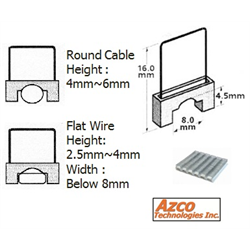 Azco Staples for AZS667 - Small