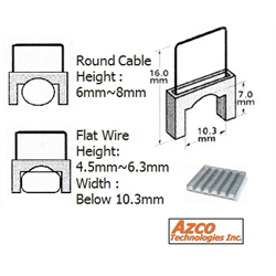 Azco Staples for AZS667 - Large