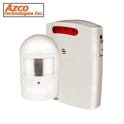 Azco Wireless Motion Detector Driveway Alert