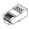 Azco EasyRJ45 CAT5E Crimp Plugs - 100 Pack
