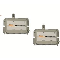 Azco IP POE over Coax Balun Extender Set, 10/100 Mbps
