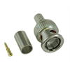 BNC Male Connector 3 Piece Crimp On RG59