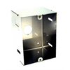 Teledoorbell Back Box for Flush Mounting Elite Series Audio Door Stations