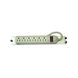 Channel Vision 6 Outlet Power Bar with Mounting Bracket
