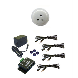 Audioplex MMX4056 White Ceiling Mount Plasma Proof Infrared Distribution Kit