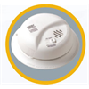 BRK Carbon Monoxide Detector 120V with Battery Backup