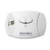 First Alert Plug-In Carbon Monoxide CO Alarm with Battery Backup