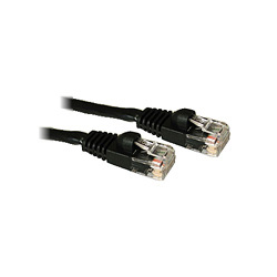 CablesToGo CAT5E 50 Foot Patch Cable Black