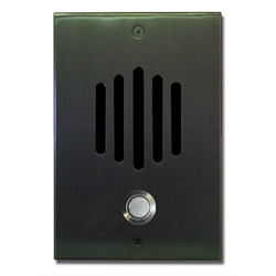 Channel Vision Door Station with Surface Mount Box for CAT5 Oil-Rubbed Bronze