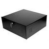 Steel  DVR Lock Box With Fan 21x24x8 Black