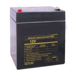 Rechargeable Sealed Lead Acid Battery 12V 4AH for UPS, Alarm, Emergency Lighting