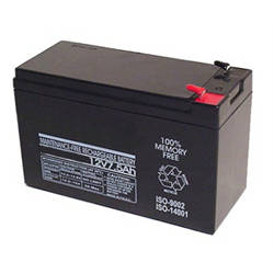 Rechargeable Sealed Lead Acid Battery 12V 7AH for UPS, Alarm, Emergency Lighting
