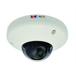 Acti Network Indoor Mini Dome, 10MP WDR,3.6mm,MicroSD, PoE