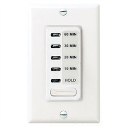 Intermatic Electronic Count Down Timer 5-10-15-30 Minute with HOLD White