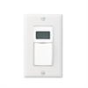 Intermatic In-Wall Decora Digital Auto-Off Timer White