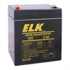 Elk Rechargeable Sealed Lead Acid Battery 12V 5Ah for UPS,Alarm,Emergency Lights
