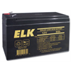 Elk Rechargeable Sealed Lead Acid Battery 12V 8AH for UPS,Alarm,Emergency Lights