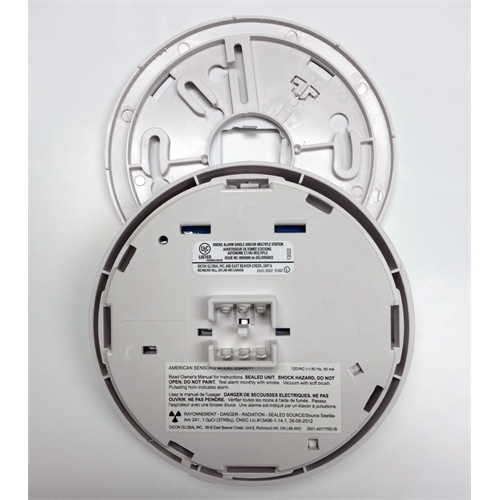 Esa5011 120v Hardwired Ionization Smoke Detector With Relay